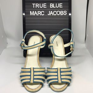Lust Worthy Baby Blue Heeled Marc Jacob Shoes